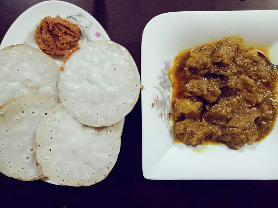 Chitoi Pitha & Beef Vuna Combo from It's Mamma's Kitchen