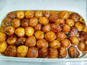 Papay Shondesh (Papaya) from Nilima Rannaghor