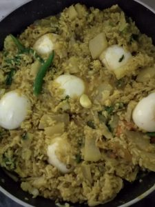 Dim Sobji Khichuri from Mohima's Kitchen