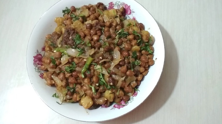 Chhola Bhuna from Dipti's Cookhouse
