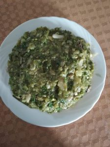 Sim o Alur Bhorta from Dipti's Cookhouse