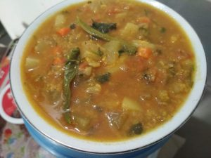 Shobji Daal (1kg) from Dipti's Cookhouse