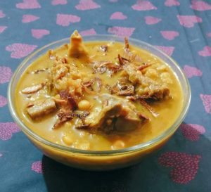Buter Daal with Khashir Matha from It's Mamma's Kitchen