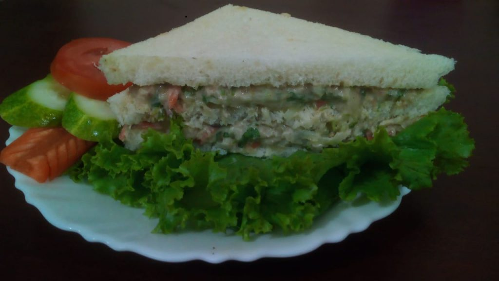 Chicken Sandwich from Rabeya's Kitchen