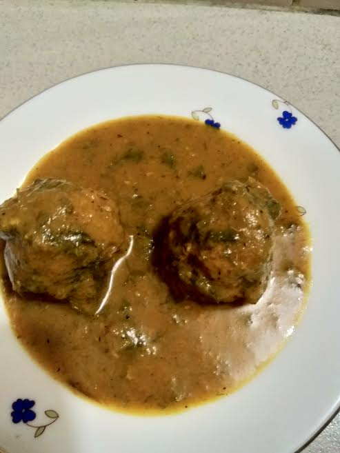 Meatball Curry from Kory's Recipe