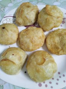 Alu Puri from It's Mamma's Kitchen