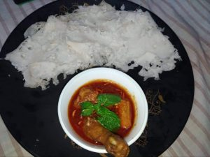Chita Ruti with Mangsho Jhol from Mohima's Kitchen