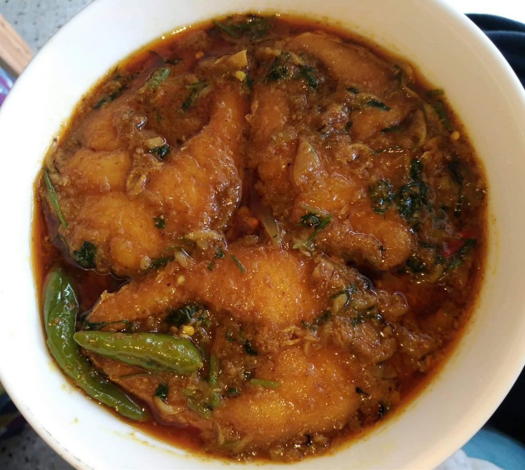 Vanggon Fish Curry from Mohima's Kitchen