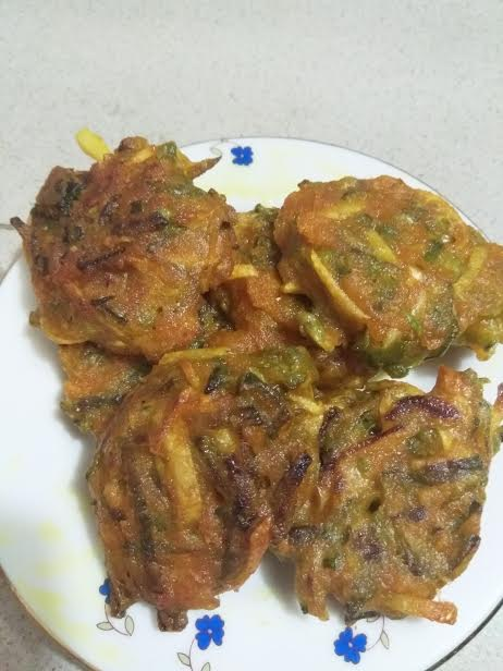Sim-Alur Pakora from Kory's Recipe