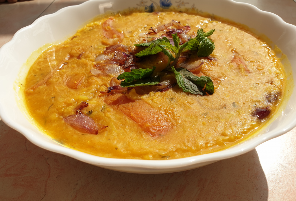 Bhaater Chaler Khichuri from Rosy's Recipe