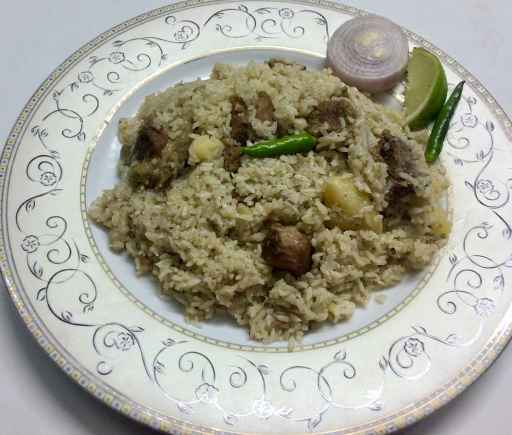 Beef Tehari from Ruma's Kitchen